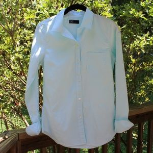 GAP Ladies One Pocket L/Sleeve Button Up /Size XS